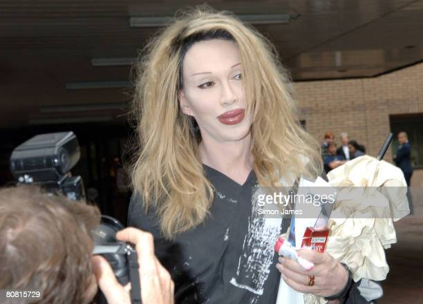 Pete Burns leaves Southwark Crown Court July 5 after a court hearing