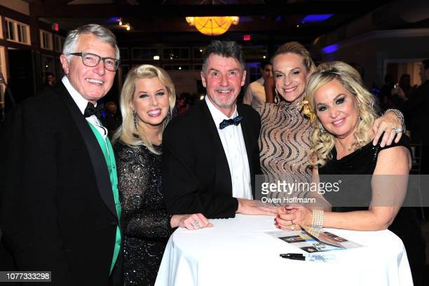 Pete Callahan Rita Cosby Nick Jordan Consuelo Vanderbilt Costin and Gina de Franco attend Wells Of Life Charity Benefits At The 8th Annual Better...