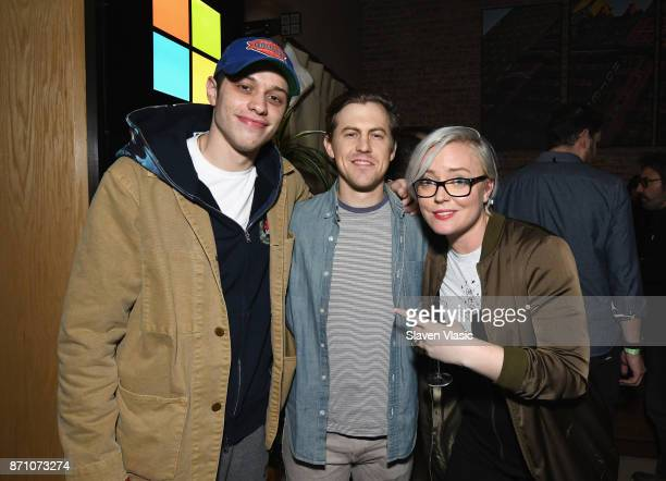 Pete Davidson Alex Moffat and Kate Yeager attend as Liam Payne Chloe Grace Moretz Brooklyn Beckham and Caleb McLaughlin Host Xbox One x VIP Event...