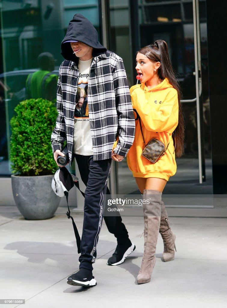 Celebrity Sightings in New York City - June 20, 2018 : ニュース写真
