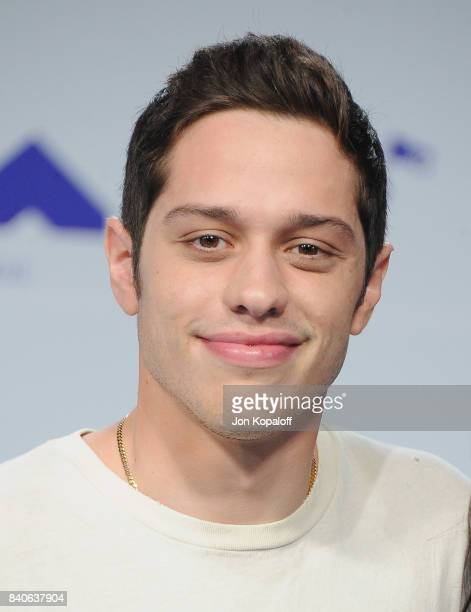 Pete Davidson arrives at the 2017 MTV Video Music Awards at The Forum on August 27 2017 in Inglewood California