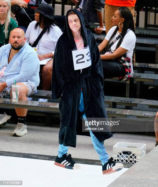 Pete Davidson at Alexander Wang show at Rockefeller Center on May 31, 2019 in New York City.