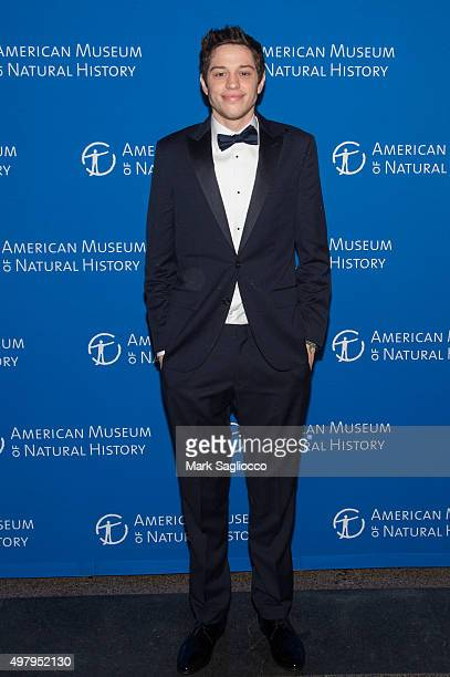 Pete Davidson attends the 2015 American Museum Of Natural History Museum Gala at American Museum of Natural History on November 19 2015 in New York...