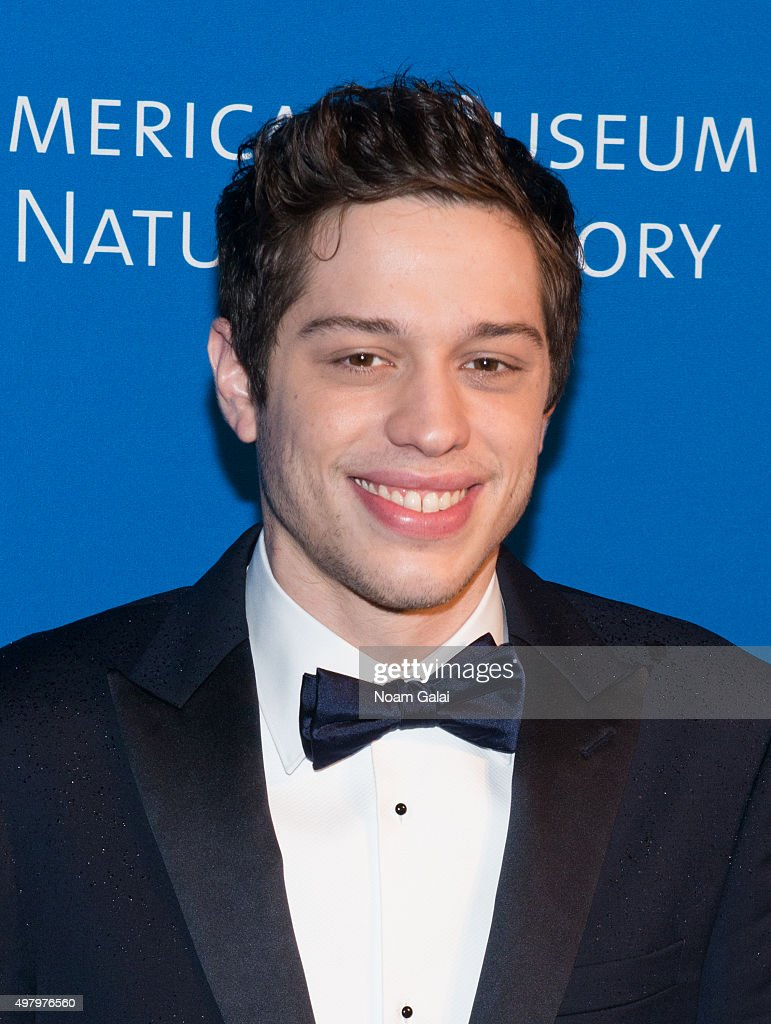 Pete Davidson attends the 2015 American Museum of Natural History Museum Gala at American Museum of Natural History on November 19, 2015 in New York City.