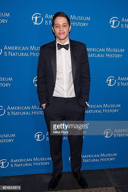 Pete Davidson attends the 2016 American Museum Of Natural History Museum Gala at American Museum of Natural History on November 17 2016 in New York...