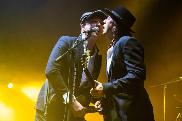 GBR: The Libertines Perform At O2 Academy, Brixton