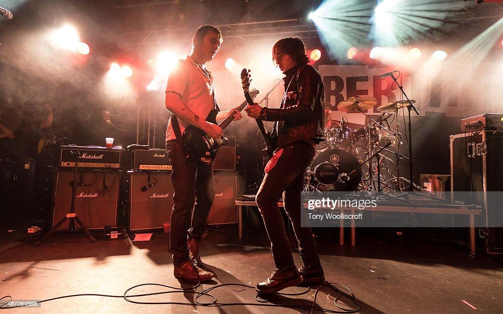 The Libertines Perform At Rock City, Nottingham