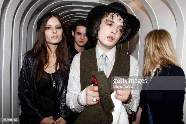 Pete Doherty attends the Joseph Flagship Opening party on March 8, 2010 in Paris, France.