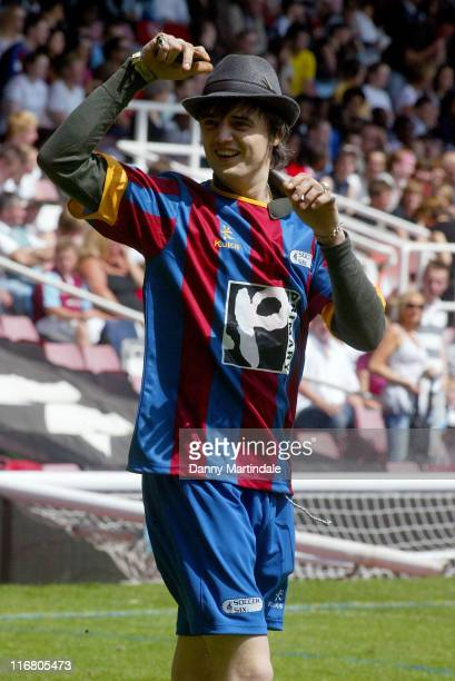 Pete Doherty during Music Industry Soccer Six - May 20, 2007 at West Ham United Football Club in London, Great Britain.