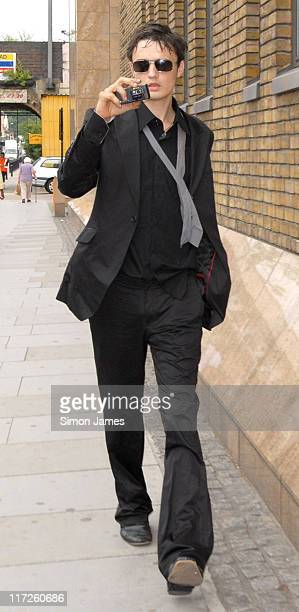 Pete Doherty during Pete Doherty Court Appearance for Drugs Posession Charges - July 13, 2006 at Thames Magistrates Court in London, Great Britain.