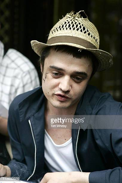 Pete Doherty during The 50th Ivor Novello Awards at Grosvenor House in London, Great Britain.