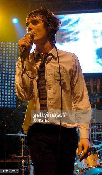 Pete Doherty formerly of The Libertines during Hero2Hero Concert Sponsored by O2 Featuring The Charlatans Ronnie Wood plus Guests at Shepherd Bush...