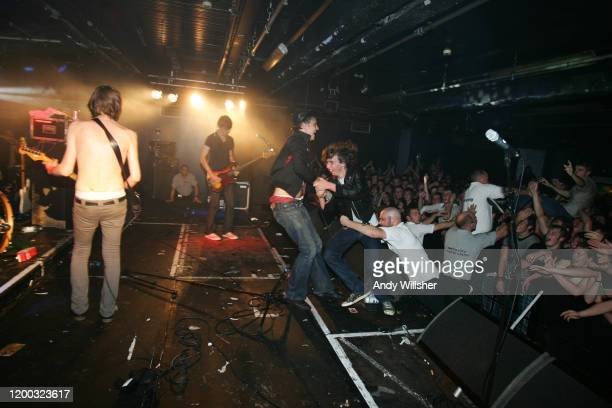 Pete Doherty from Babyshambles performs live at Sheffield University in September 2005