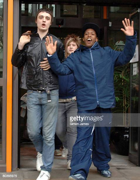 Pete Doherty leaving Thames Magistrates Court 20th April 2006 Doherty has been spared a jail term after being caught with heroin crack cocaine and...