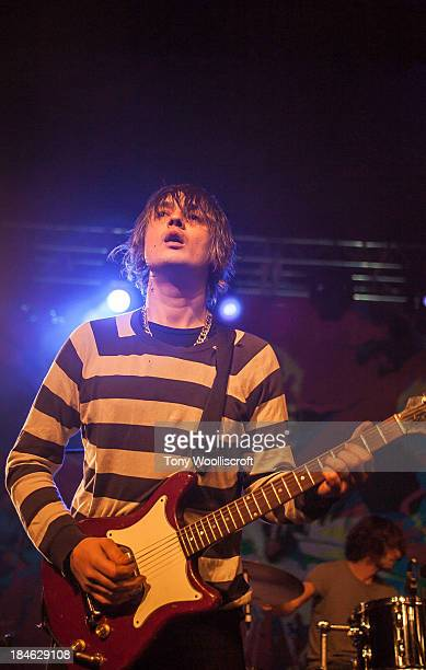 Pete Doherty of Babyshambles performs at The Institute on October 14 2013 in Birmingham England