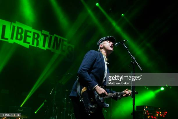 Pete Doherty of The Libertines performs at O2 Academy Brixton on December 19, 2019 in London, United Kingdom.
