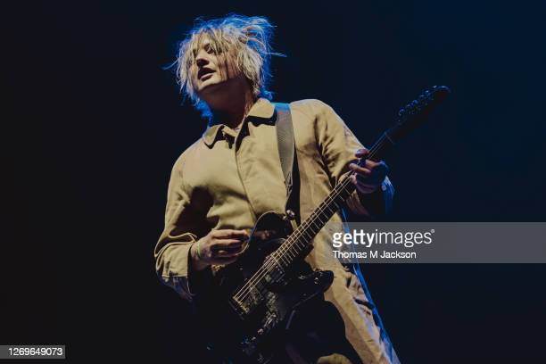 Pete Doherty of The Libertines performs at Virgin Money Unity Arena on August 29, 2020 in Newcastle upon Tyne, England.