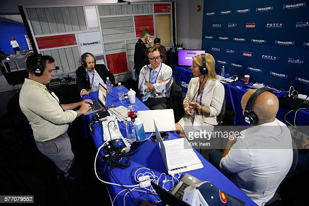 Pete Dominick host of Stand Up with Pete Dominick on SiriusXM talks with Matt Welch editor of Reason Magazine Christine Romans of CNN and Jonathan...
