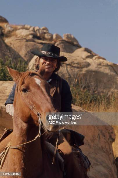 Pete Duel appearing in the Walt Disney Television via Getty Images series 'Alias Smith and Jones'