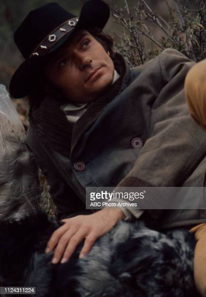 Pete Duel appearing in the Walt Disney Television via Getty Images series 'Alias Smith and Jones' episode 'A Fistful of Diamonds'