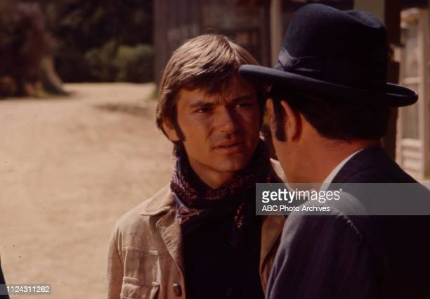 Pete Duel appearing in the Walt Disney Television via Getty Images series 'Alias Smith and Jones' episode 'The Legacy of Charlie O'Rourke'