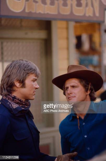 Pete Duel Ben Murphy appearing in the Walt Disney Television via Getty Images series 'Alias Smith and Jones' episode 'The Legacy of Charlie O'Rourke'