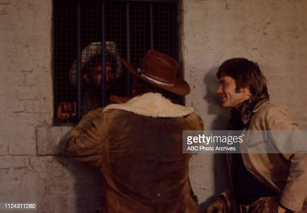 Pete Duel costars appearing in the Walt Disney Television via Getty Images series 'Alias Smith and Jones' episode 'The Legacy of Charlie O'Rourke'