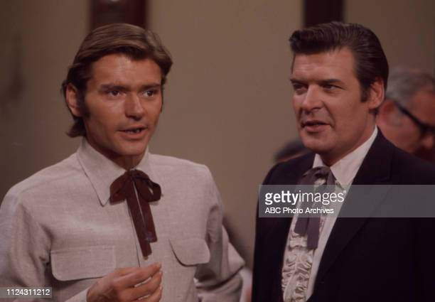 Pete Duel Peter Breck appearing in the Walt Disney Television via Getty Images series 'Alias Smith and Jones' episode 'The Great Shell Game'