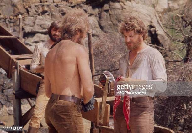 Pete Duel Roger Davis Ben Murphy appearing in the Walt Disney Television via Getty Images series 'Alias Smith and Jones' episode 'Smiler with a Gun'