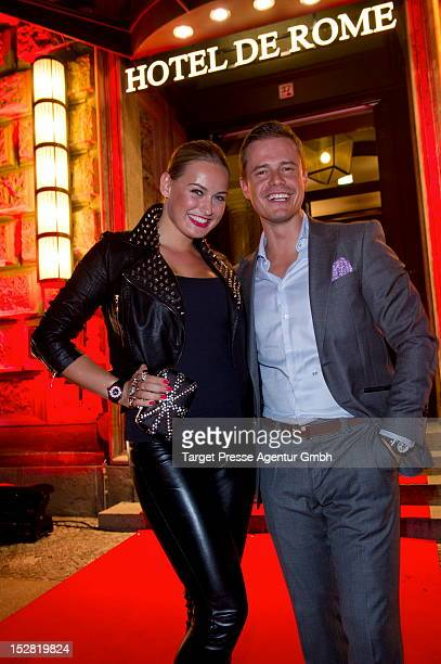 Pete Dwojak and anne Julia Hagen attend the Vodafone Night at Hotel de Rome on September 26 2012 in Berlin Germany