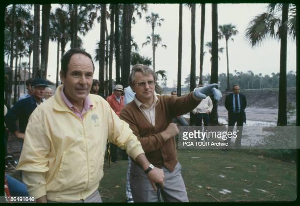 Pete Dye Deane Beman PGA TOUR October 1980 Archive via Getty Images