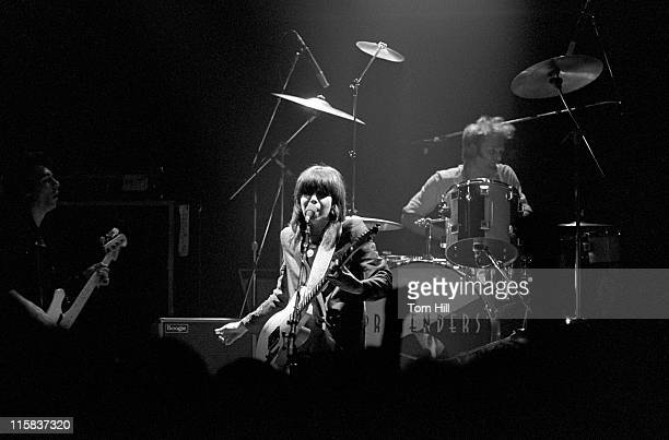 Pete Farndon, Chrissie Hynde and Martin Chambers of The Pretenders