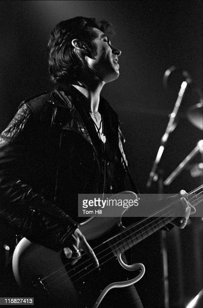 Pete Farndon of The Pretenders during The Pretenders in Concert at the Agora Ballroom in Atlanta - April 2, 1980 at Agora Ballroom in Atlanta,...