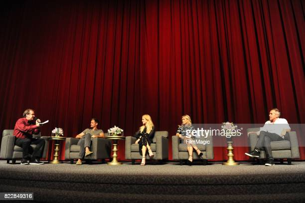 Pete Hammond Alex Skarsgard Nicole Kidman Reese Witherspoon and JeanMarc Vallee attend HBO 'Big Little Lies' FYC at DGA Theater on July 25 2017 in...
