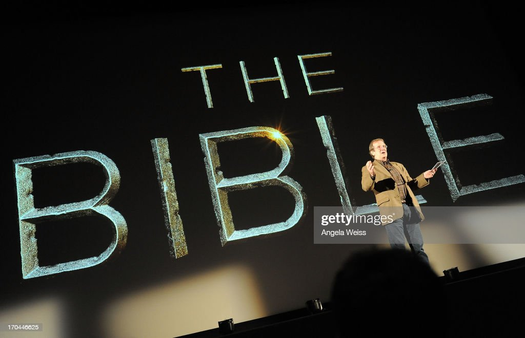 Pete Hammond attends a special event for History's 'The Bible' at Harmony Gold Theatre on June 12, 2013 in Los Angeles, California.