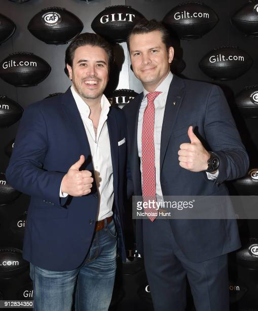Pete Hegseth attends Giltcom's Big Game Celebration benefiting the Challenged Athletes Foundation at Saks OFF 5TH on January 31 2018 in Minneapolis...