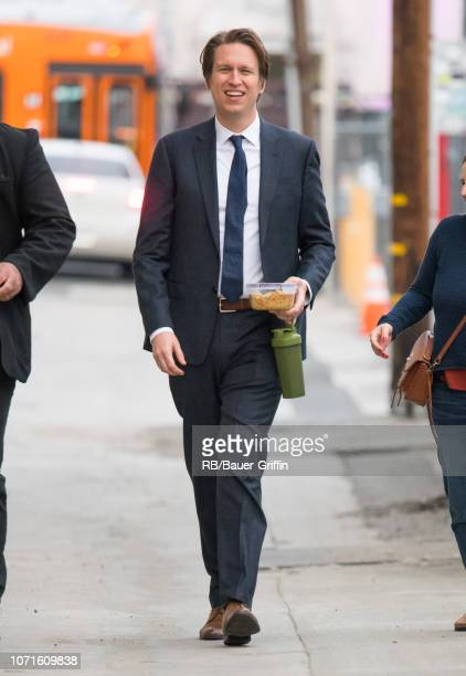 Pete Holmes is seen at 'Jimmy Kimmel Live' on December 10 2018 in Los Angeles California