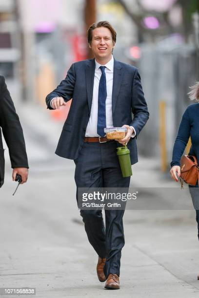 Pete Holmes is seen on December 10 2018 in Los Angeles California