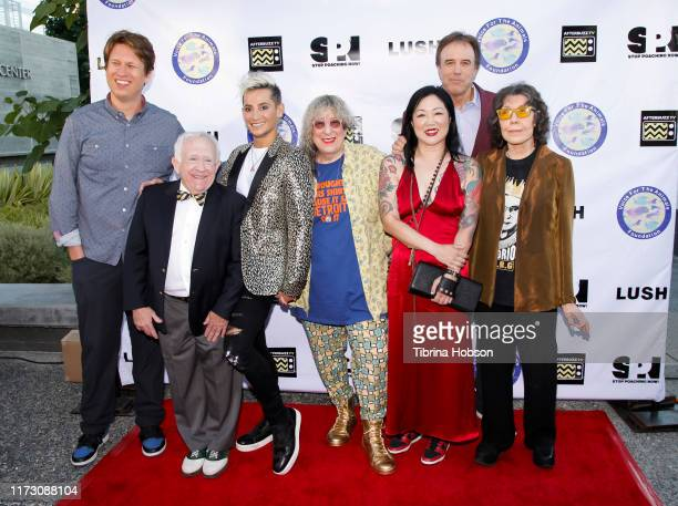 Pete Holmes Leslie Jordan Frankie Grande Allee Willis Margaret Cho Kevin Nealon and Lily Tomlin attend the Voice for Animals 3rd annual 'Wait Wait...