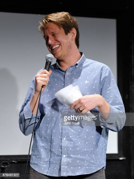 Pete Holmes speaks onstage during Comedians You Should Will Know hosted By Pete Holmes and the cast of HBO's Crashing during Vulture Festival LA...
