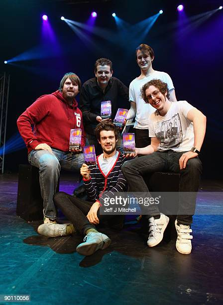 Pete Johansson Kevin Bridges Jack Whitehall Jonny Sweet Carl Donnelly who are nominated for Best Newcomer's the Edinburgh Fringe comedy awards on...