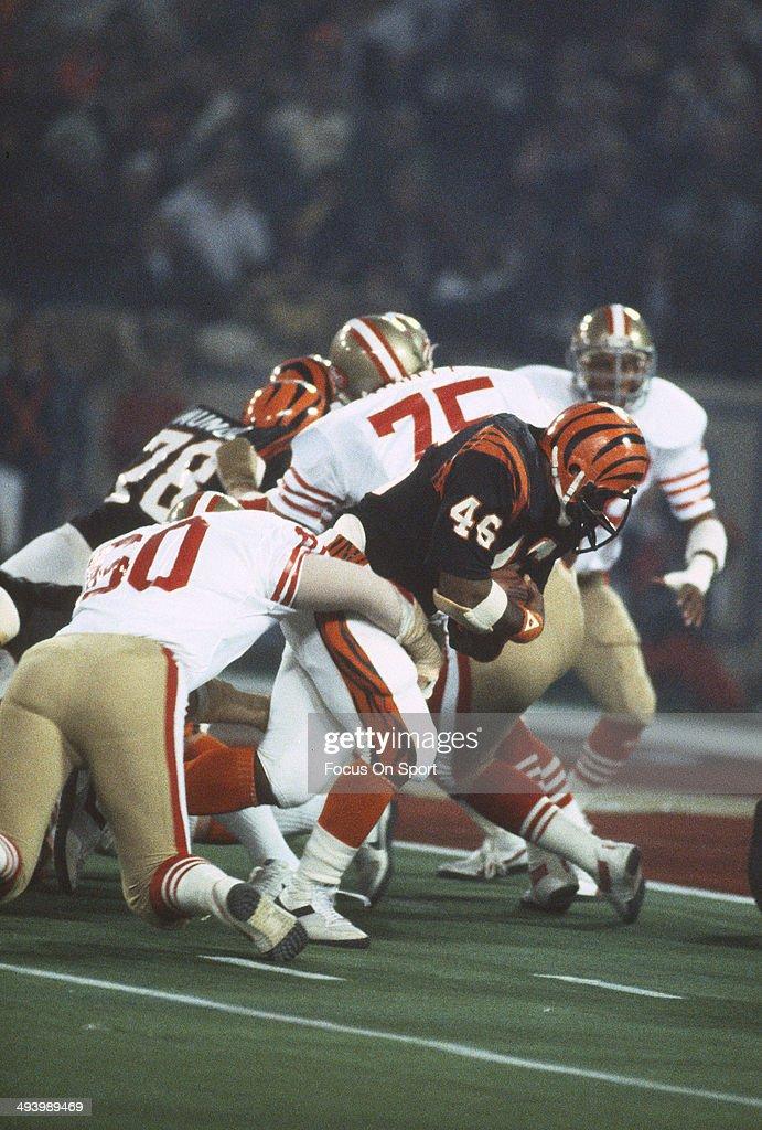 Super Bowl XVI - San Fracisco 49ers v Cincinnati Bengals : News Photo