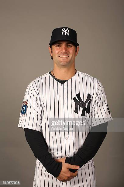 Pete Kozma of the New York Yankees poses during Photo Day on Saturday February 27 2016 at George M Steinbrenner Field in Tampa Florida
