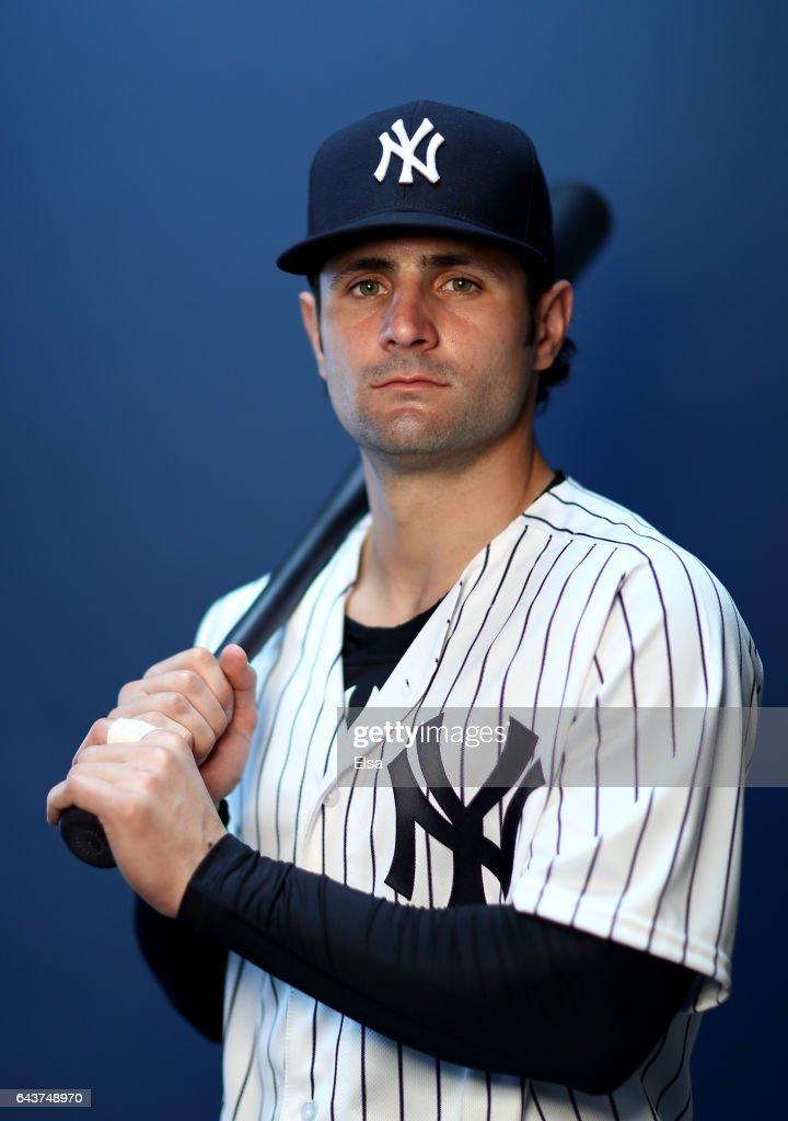 Pete Kozma #41 of the New York Yankees poses for a portrait during the New York Yankees photo day on February 21, 2017 at George M. Steinbrenner Field in Tampa, Florida.