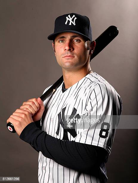 Pete Kozma of the New York Yankees poses for a portrait on February 27 2016 at George M Steinbrenner Stadium in Tampa Florida