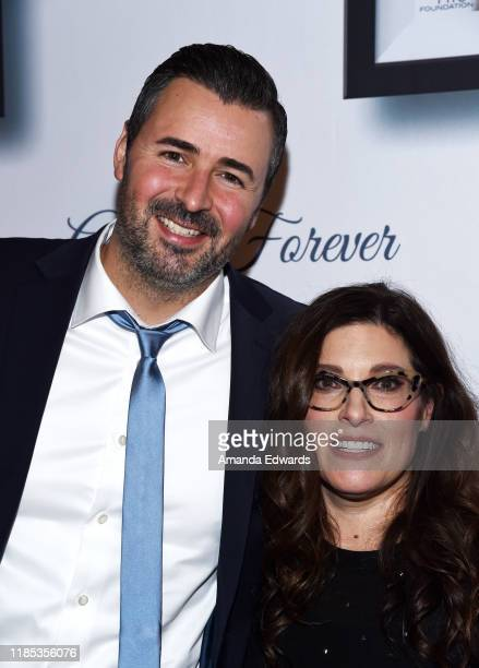 Pete Lee and Rebecca Corry arrive at the 9th Annual Stand Up For Pits event hosted by Kaley Cuoco at The Mayan on November 03, 2019 in Los Angeles,...