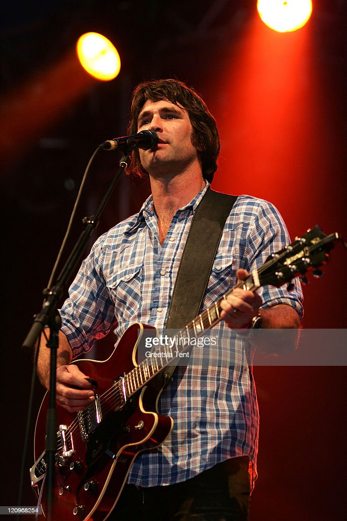 Pete Murray performs live on day 3 of the 39th Pinkpop Festival on June 1, 2008 in Landgraaf, Netherlands.