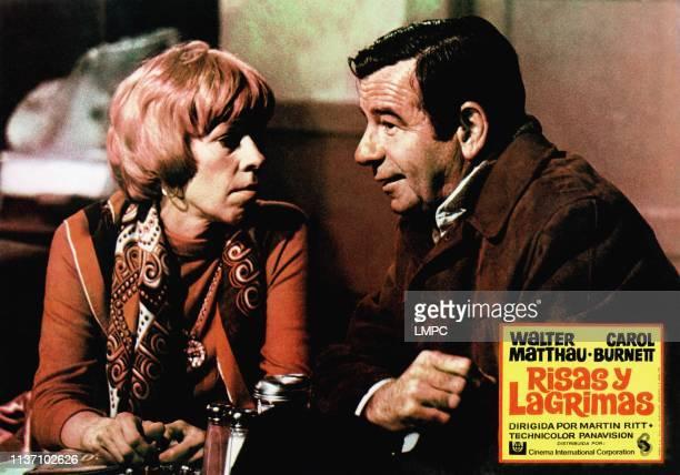 Pete 'n' Tillie lobbycard from left Carol Burnett Walter Matthau 1972