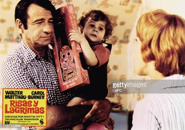 Pete 'n' Tillie lobbycard Walter Matthau Carol Burnett 1972