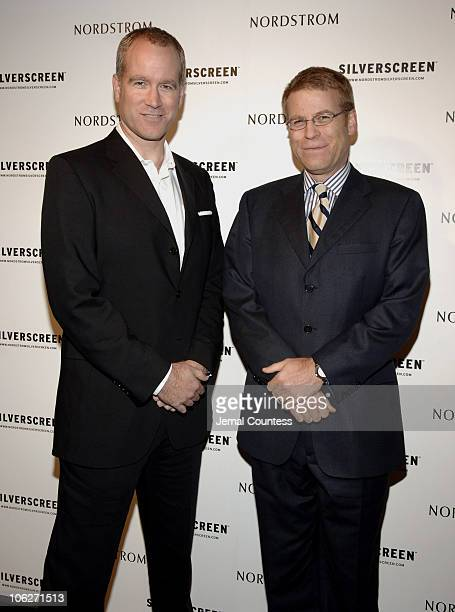 Pete Nordstrom and Blake Nordstrom during Nordstrom Silverscreen.com Party at Marquee at Marquee in New York City, New York, United States.